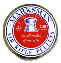Marksman Domed Pellets .25 - Bulk Buy